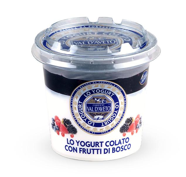 Yogurt con Frutti di Bosco Val d'Aveto