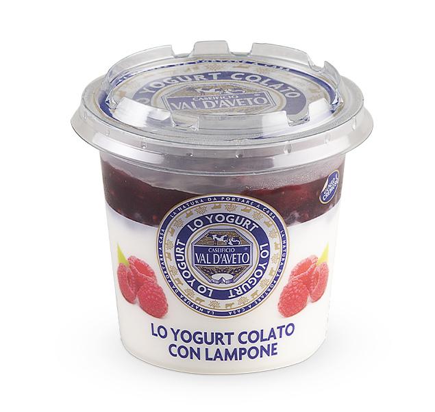 Yogurt lampone Val D'Aveto