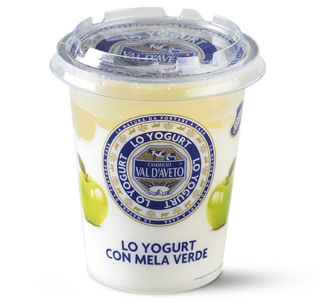 yogurt mela verde val d'aveto