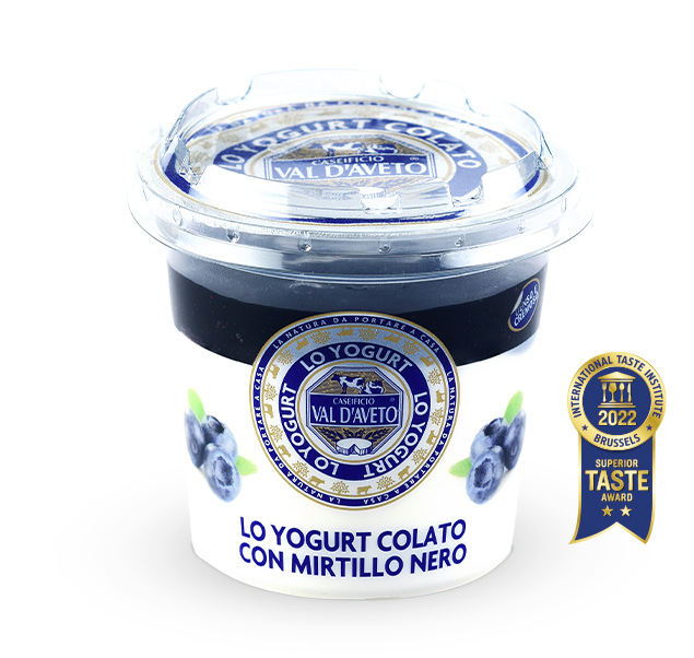 yogurt mirtillo nero val d'aveto