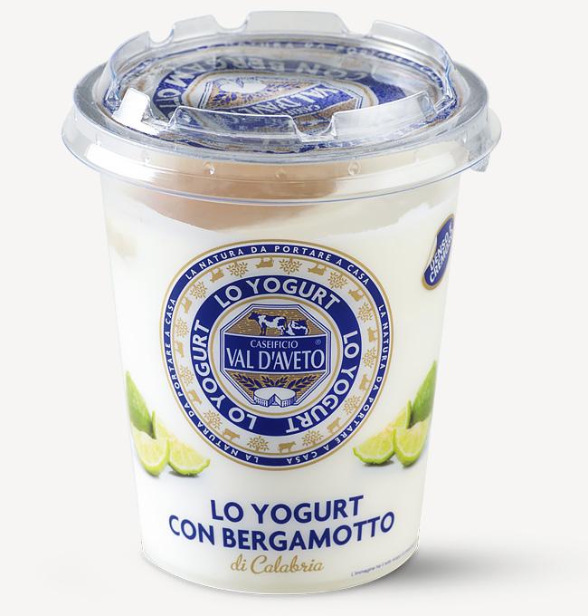 Yogurt al bergamotto Val d'Aveto