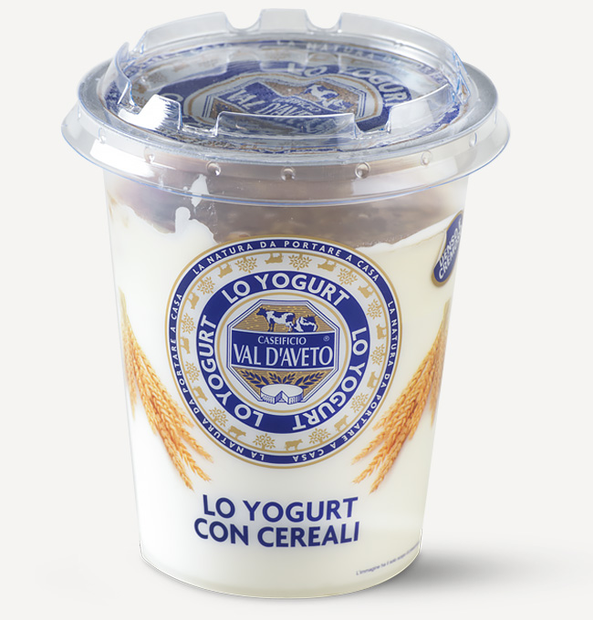 Yogurt ai cereali Val d'Aveto
