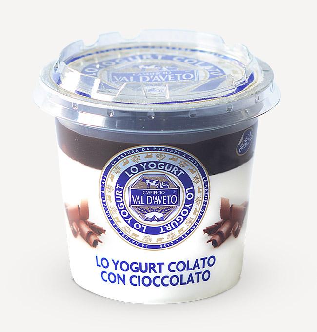 yogurt cioccolato val d'aveto