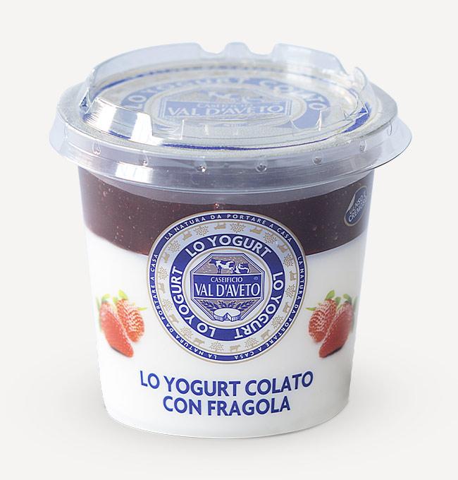 Yogurt alla fragola Val d'Aveto