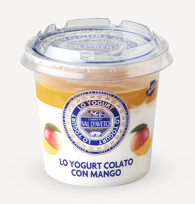 Yogurt Colato al Mango 180g