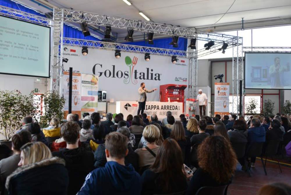 Golisitalia 2018 fiera brescia Caseificio Val d'Aveto