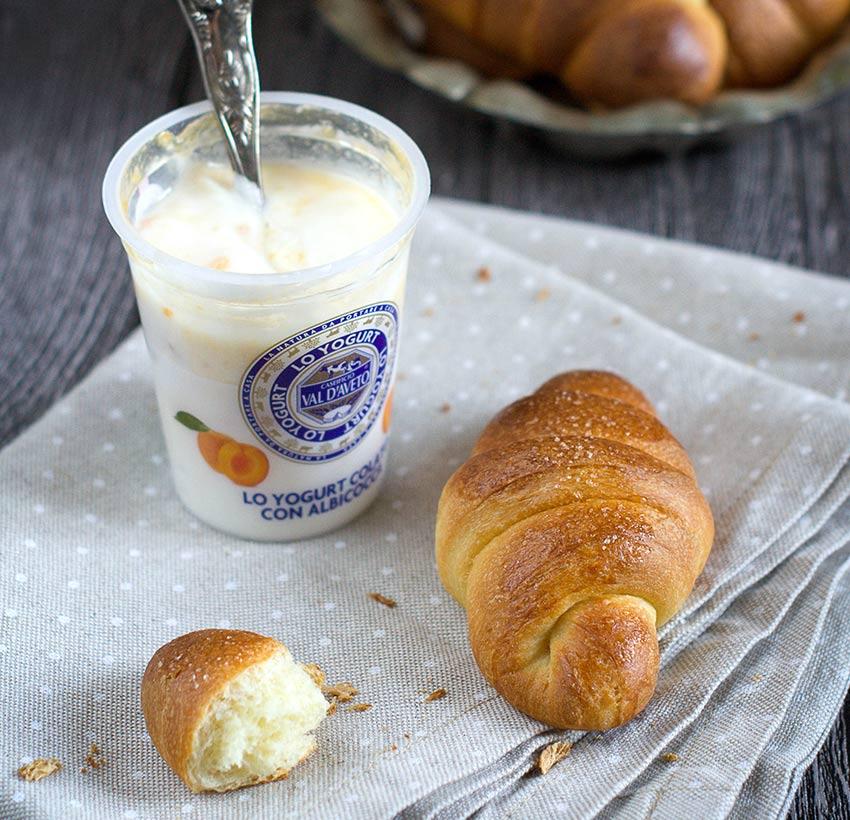 Cornetti allo yogurt Val d'Aveto