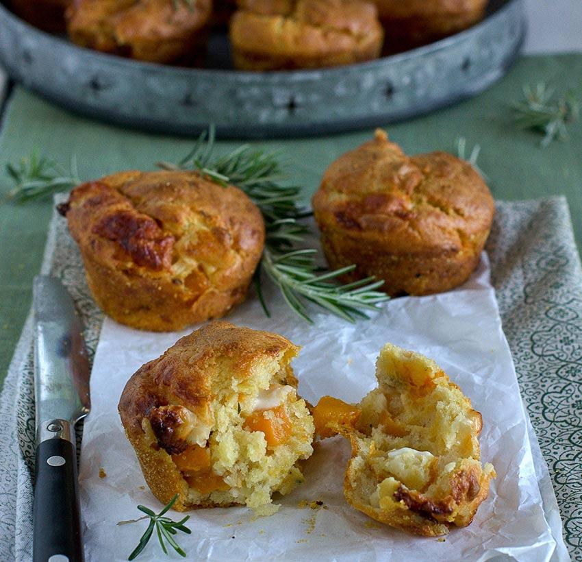 Muffins con zucca e Avetino Val d'Aveto