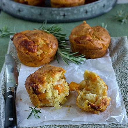 Muffins-con zucca e Avetino