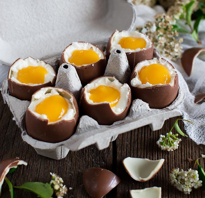 Uova a sorpresa con Prescinsoa
