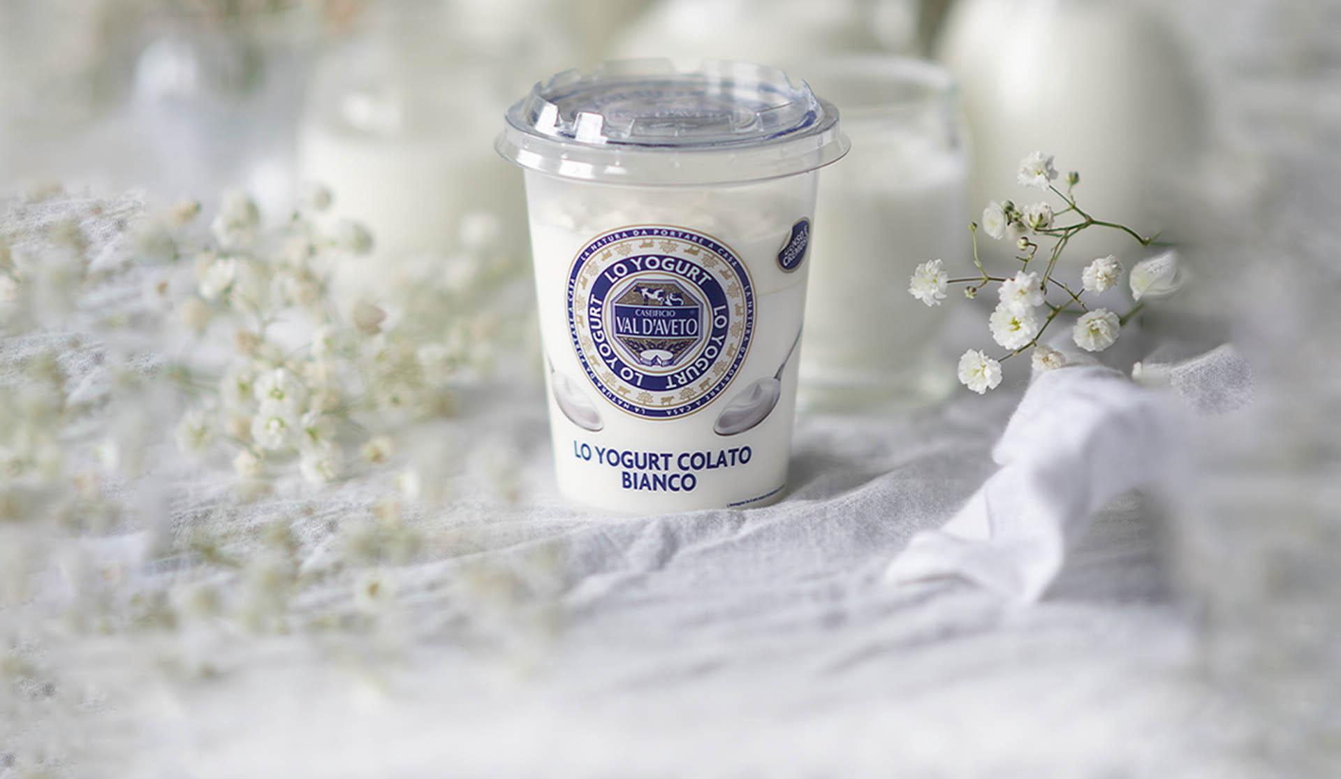 Yogurt Bianco Colato Caseificio Val d'Aveto